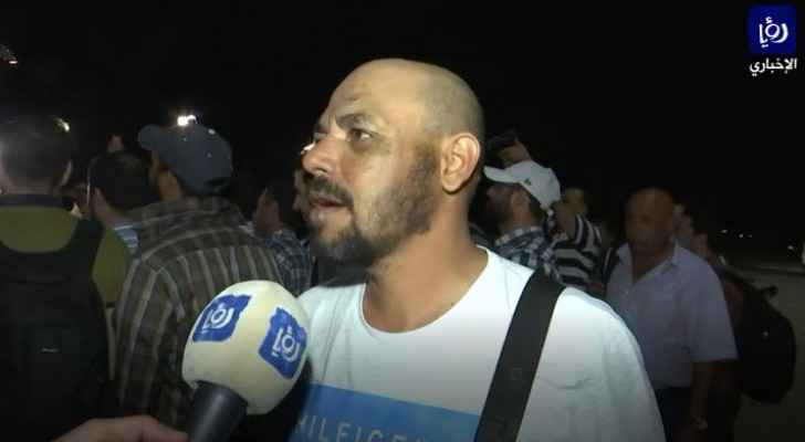 Roya interviews Jordanians attacked in Kazakhstan upon their arrival in Amman