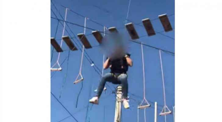 Girl suffers injuries after falling off ride at tourist resort in Jerash