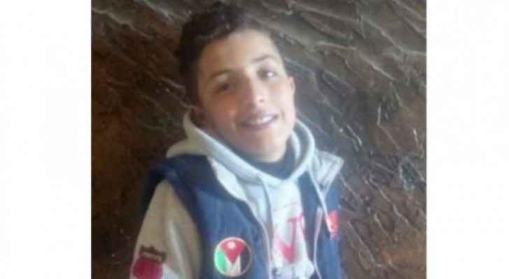 The 12-year-old boy, Ibrahim Al-Ra'i