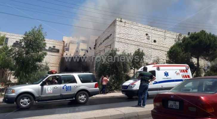Chamber of Commerce: Losses caused by fire in Al Rawda Neighbourhood stand at JD 1 million
