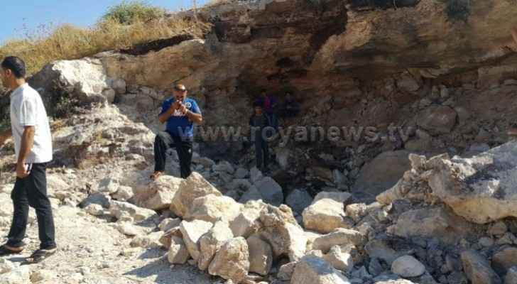 Photos: Security agencies begin clearing, exploding old ordnance in Irbid