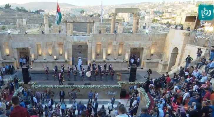 34th Jerash Festival for Culture, Arts kicks off