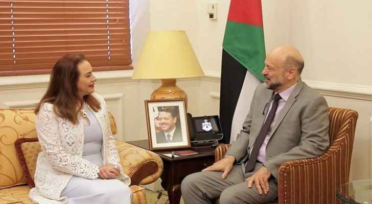 Razzaz meets President of UN General Assembly