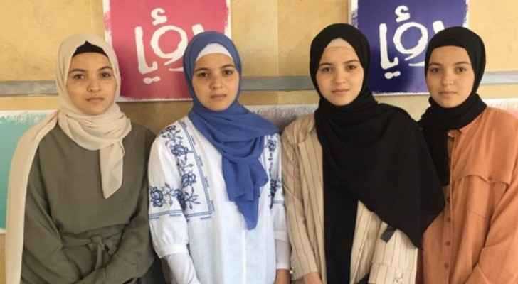 Roya interviews Palestinian quadruplets who got high results in General Secondary Examination