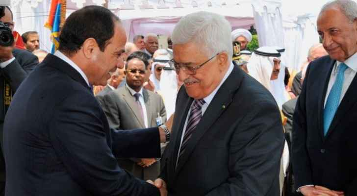 Palestinian President Abbas congratulates Sisi on July 23 Revolution