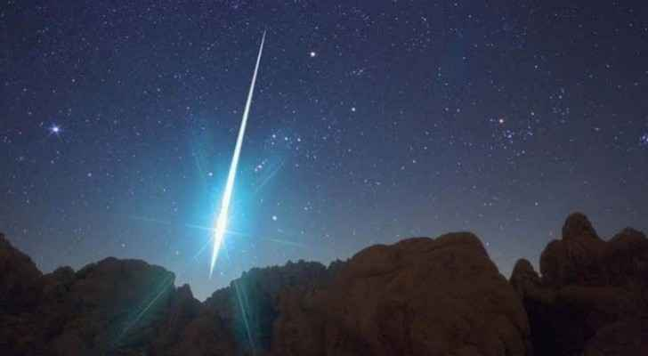 Meteor showers to fire up Jordan's skies