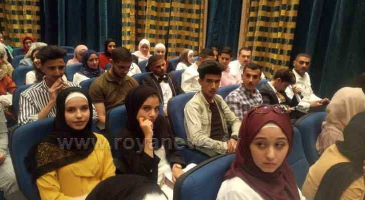 Top achievers in Tawjihi arrive at Queen Rania Center to attend conference