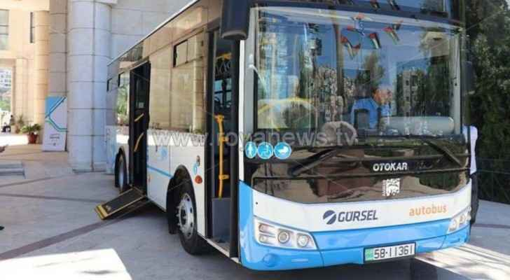 Amman Bus to be free for elderly, people with disabilities