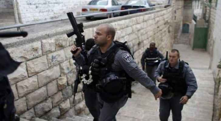 In an ongoing Israeli campaign against Issawiyeh, seven young Palestinians detained