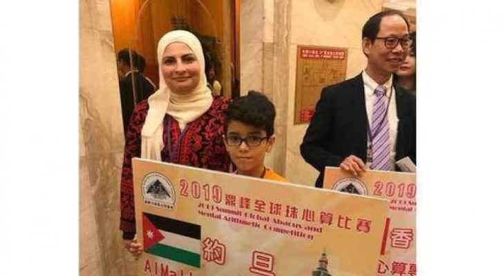 Jordanian student gets high rank in IQ competition in China