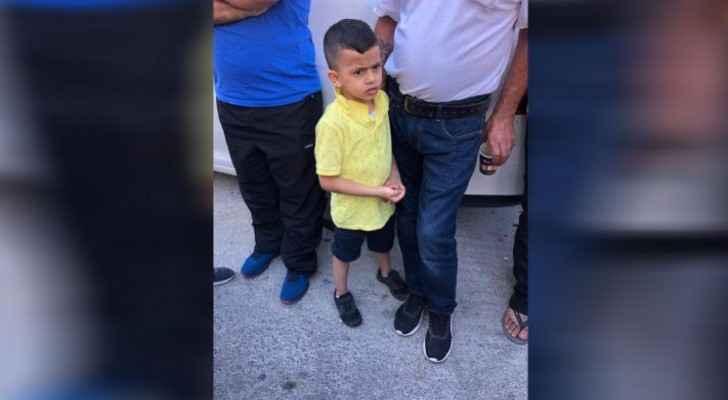 The 3-year-old child, Mohammad Rabi 'Alian