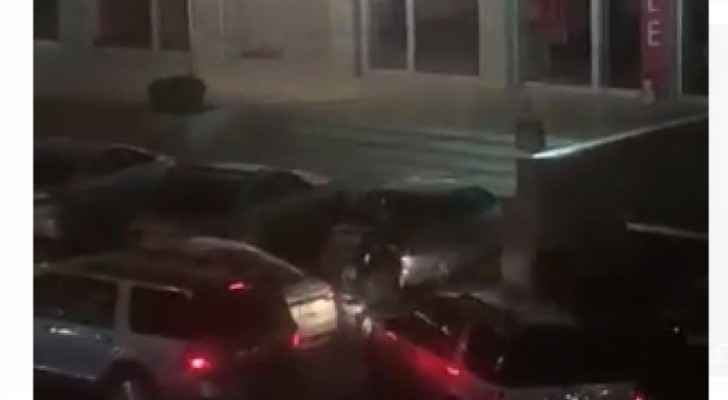 Video: Armed clash broke out in Sweifieh last night