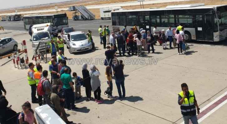 Plane suffers technical glitch half an hour after its departure from Queen Alia Airport