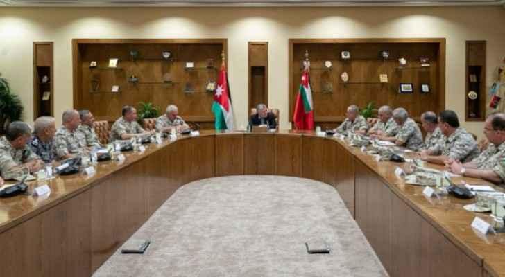 King visits JAF General Command