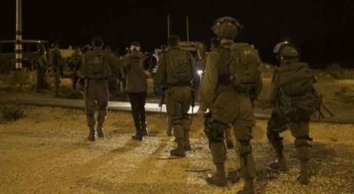 8 Palestinians detained from various parts of West Bank on Wednesday dawn