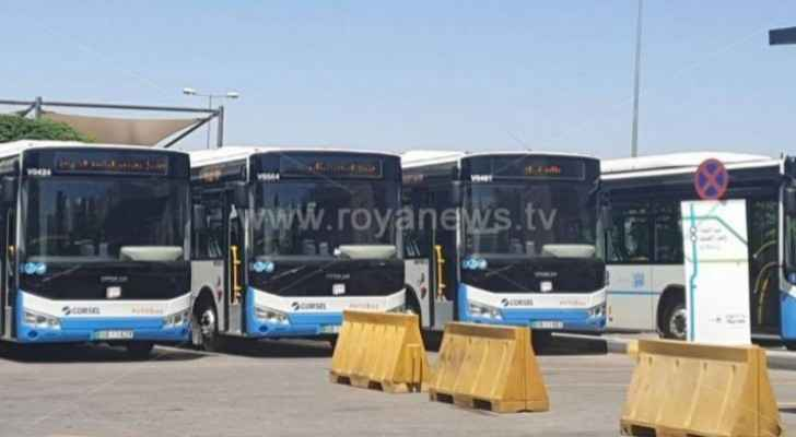 You can now enjoy free WiFi while on board of buses operating through 'Amman Bus' project
