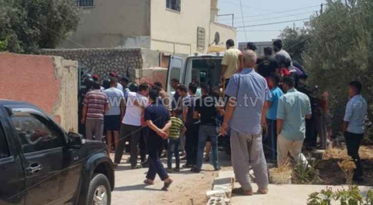 Photos, Video: Road closure in Irbid following murder