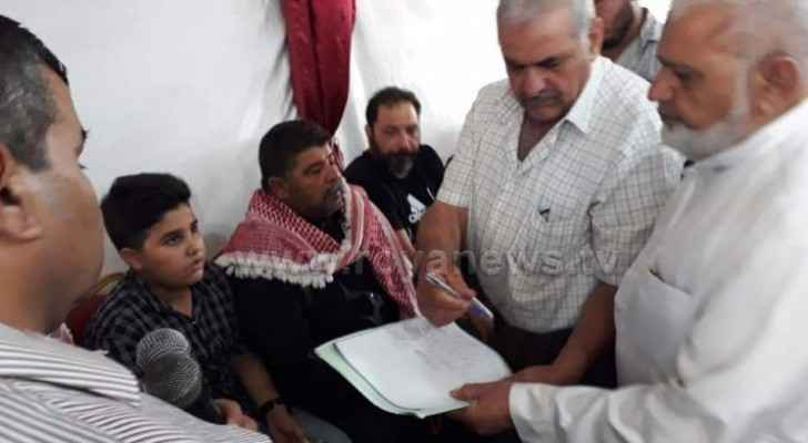 Family of man who killed cousin in Irbid, victim's family reach 'Atwa'