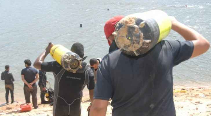 Photos: CDD still searching for man drowned in King Talal Dam