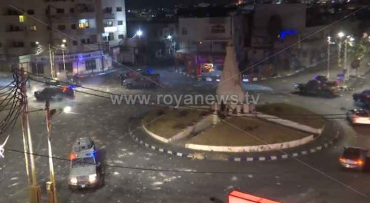 Riots, protests take place in Ramtha for the second day in a row