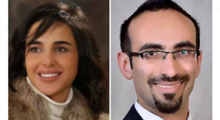Maher Maymoun and Malak Al Akiely