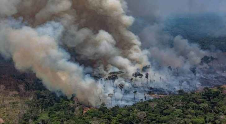 Jordan issues first statement on Amazon rainforest fires