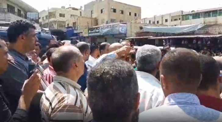 Shop owners, residents in Karak protest against government's new decision