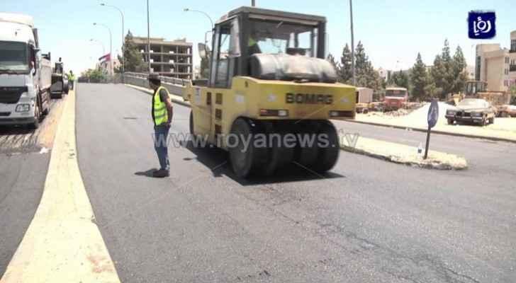 GAM spends JD 14 million on paving, maintenance works in 2019