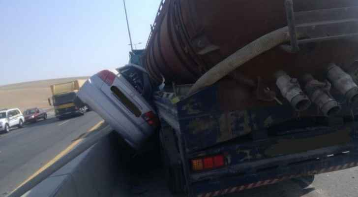 Video: One killed in horrific road accident in Amman