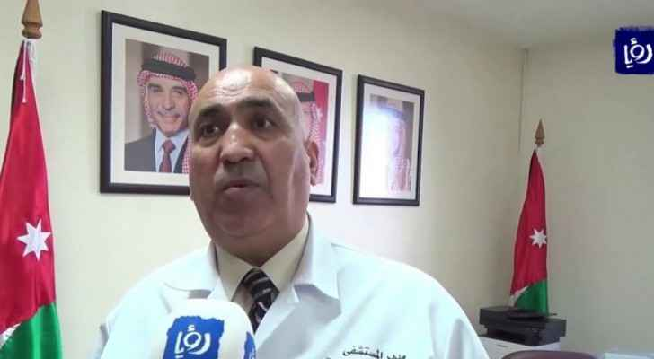 Mahmoud Zreikat, Director General of Al-Bashir Hospital