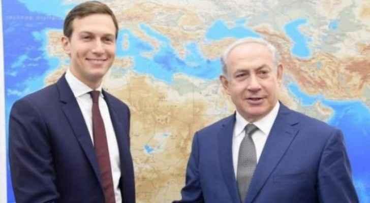 Benjamin Netanyahu and Jared Kushner
