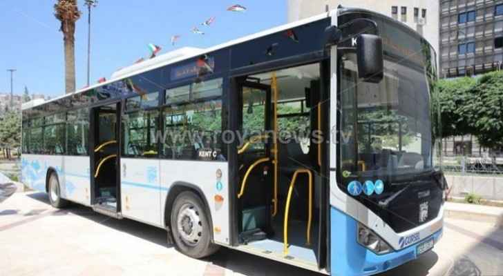 One million passengers boarded buses operating through 'Amman Bus' within two months
