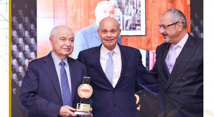 Nidal M. Sukhtian awarded as 'the most dynamic, impactful businessman in Jordan ' in 2019