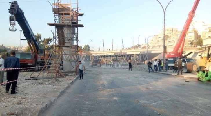Army Street in Amman reopened following temporal closure this morning