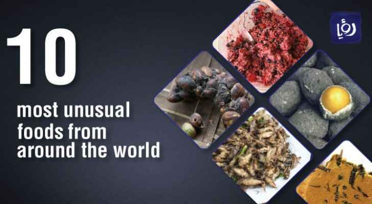 10 most unusual foods to try from around the world