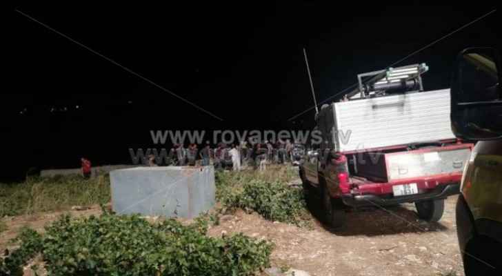 Photos, video: Three suffocated to death inside agricultural well in Ajloun