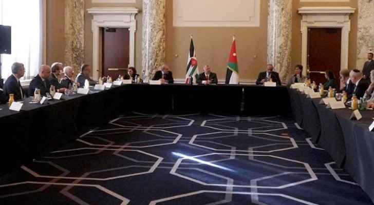 King meets representatives of international, US Jewish organisations