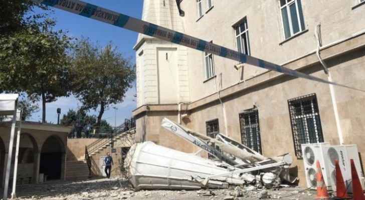 Earthquake with magnitude of 5.7 hits Istanbul