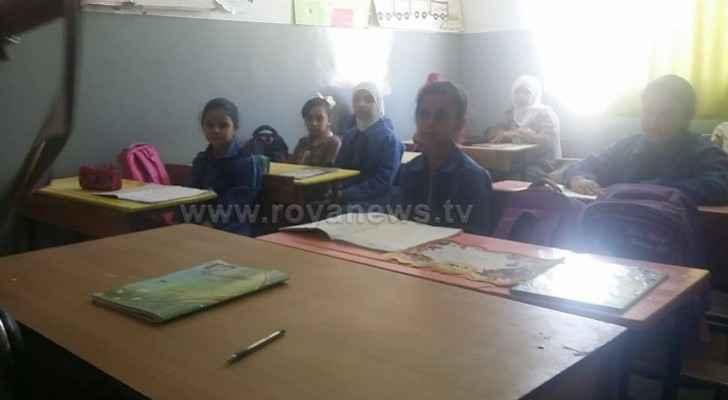 Students headed to schools in Madaba, teachers still on strike