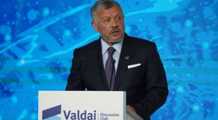 King participates in Valdai Discussion Club annual meeting in Sochi