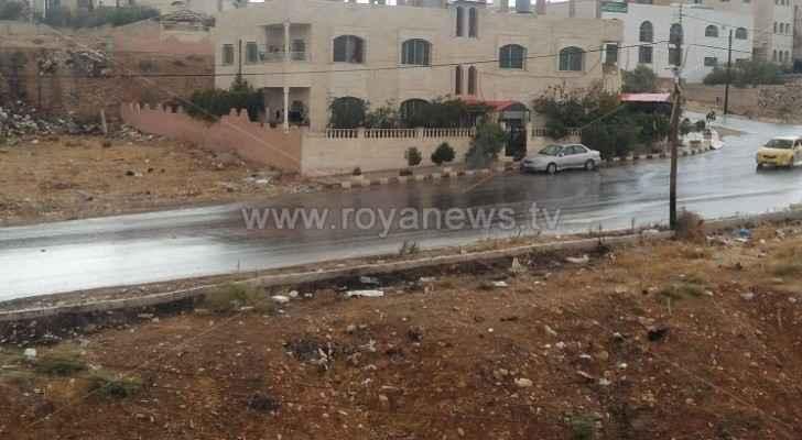 Videos, photos: Season's first rainfall in Jordan