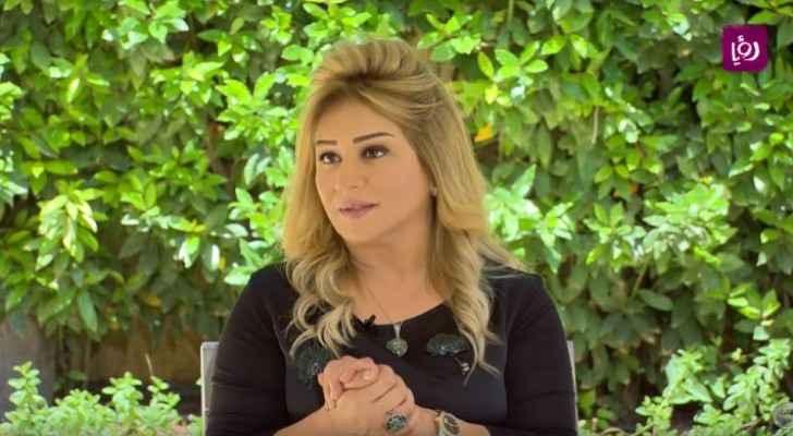 The Jordanian actress, Amal Dabbas