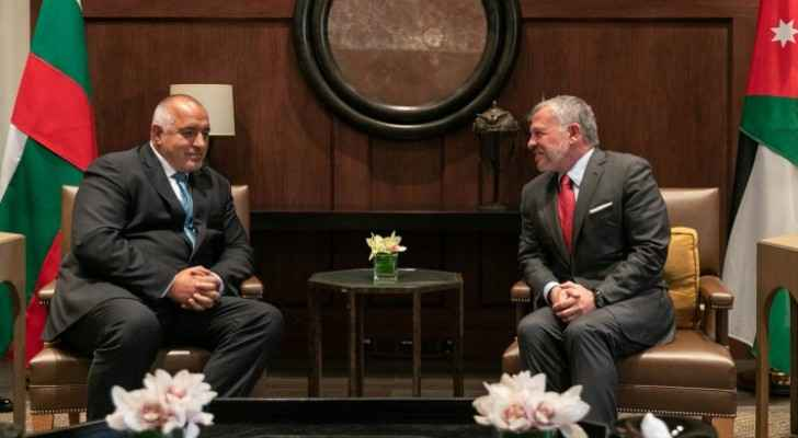 King holds talks with Bulgarian PM