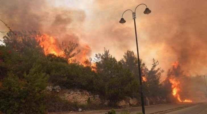 Jordan ready to help extinguish huge fires in Lebanon