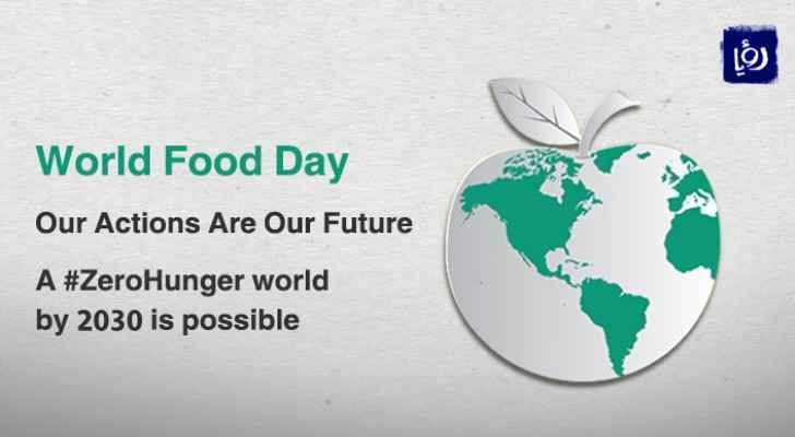 Jordan joins world in celebrating World Food Day