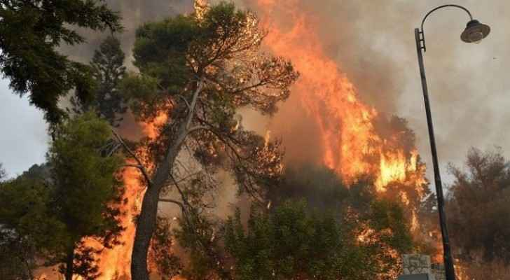 Lebanese Civil Defense thanks Jordan for assistance in extinguishing fires