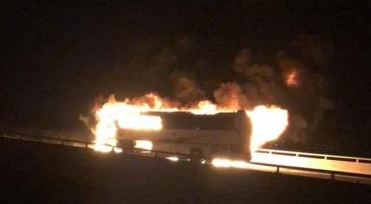 Over 30 pilgrims dead in Saudi bus crash