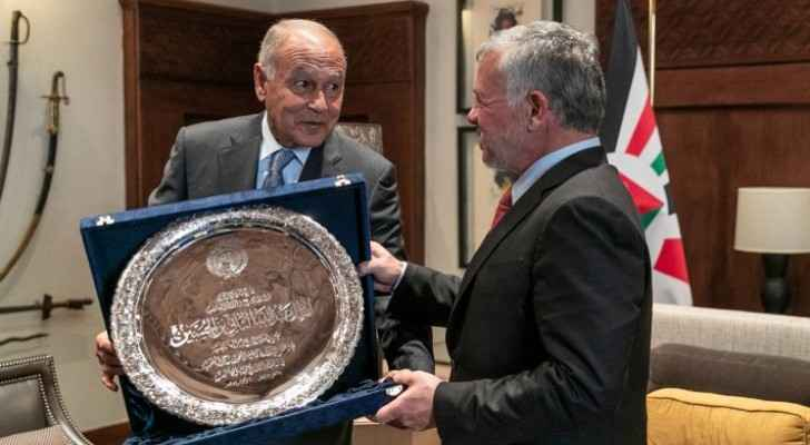King receives 2019 Arab Development Work Shield