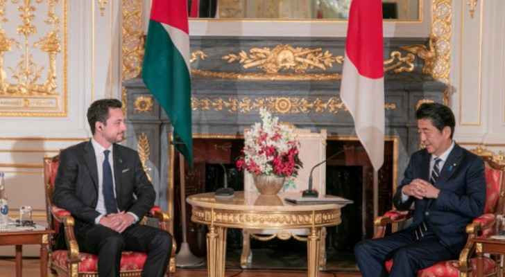 Crown Prince meets Japanese Prime Minister in Tokyo