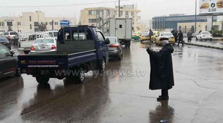 GAM declares 'medium state of emergency' as Jordan expected to witness weather depression